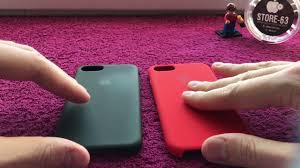 iPhone 7 <b>Silicone Case</b> - оригинал и копия. Как отличить? - YouTube