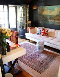 Eclectic home office Eclectic Design View In Gallery Stylish Home Office With An Eclectic Homedit Eclectic Home Design Style Characteristics