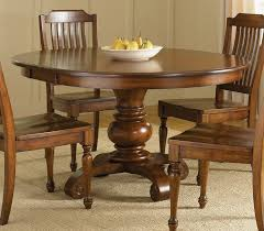 dining room enthralling 48 inch round dining table of benchwright rustic x base set by