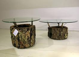 tree trunk furniture for sale. Tree Stumps Furniture Table Stump E With Glass Top Cypress Trunk . For Sale T