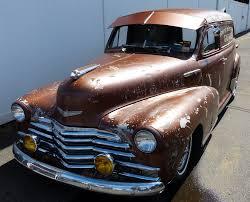 Nostalgia on Wheels: 1947-1948 Chevy Sedan Deliveries