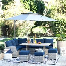 Outdoor Dining Furniture With Umbrella Patio Furniture Dining Sets