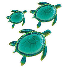 image is loading sea turtle wall art decor 3 pack large  on large metal sea turtle wall art with sea turtle wall art decor 3 pack large metal glass sculpture in out