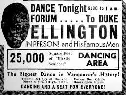 if it ain t got that swing past tense duke ellington and his famous men vancouver sun 15 1940