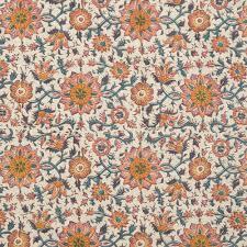 Persian Design Fabric Persian Flower Floral Prints Prints Dering Hall