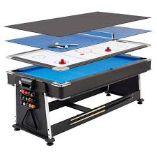 Pool Table Lights Costco Mightymast Leisure Revolver 7ft 3 In 1 Multigames Table Costco Uk
