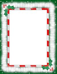 Free Word Borders Templates Free Christmas Letter Borders Christmas Border Template 15