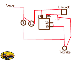how to wire linelock to transbrake page 3 yellow bullet forums here is simple one relay wiring