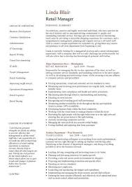 Resume Samples For Retail | Resume Samples And Resume Help