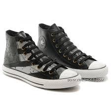 black grey leather converse american flag usa high chucks all star sneakers