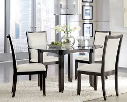 glass dining sets 4 chairs. appealing round glass dining table set for 4 32 room with sets chairs n