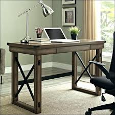 rustic office desk c office desk pine computer wood and metal top full size of living rustic office desk