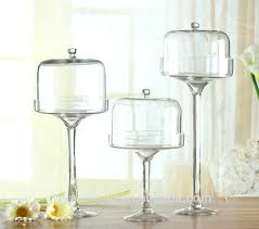 tall cake stand with dome clear glass tall pedestal cake stand plate with dome cover