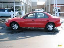 1998 Flame Red Chevrolet Cavalier Sedan #4695144 | GTCarLot.com ...