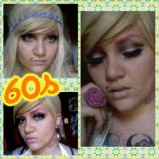 makeup tutorial twiggy 60s hippie tutorial de maquillaje