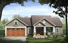 craftsman farmhouse plans craftsman ranch house plans with basement
