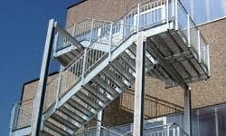 Progettazione Scale Antincendio : Scale metalliche di sicurezza emergenza scala antincendio