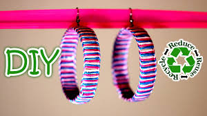 Recycling Plastic Bottles Diy Earrings Out Of A Recycled Plastic Bottle Youtube