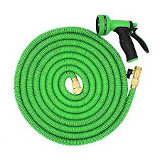 garden hoses. Kadaon 100 Feet Expandable Garden Hose With 8-pattern Sprayer Nozzle (Green) Hoses R