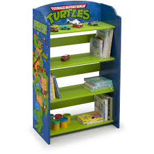 Ninja Turtle Bedroom Furniture Delta Children Nick Jr Paw Patrol Bookshelf Walmartcom