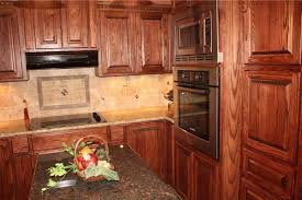 Ash Kitchen Cabinets Custom Ash Cabinets With Built In Appliances