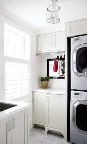 Laundry Room: Beautiful Tiny Laundry Space Decoration - Laundry Rooms