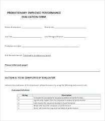 Orientation Feedback Form Magnificent Performance Evaluation Form Free Word Documents Download Premium