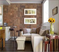 the fine decoration with cork wall tiles