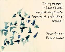 Paper Towns Quotes Cool Paper Towns John Green Quote Book