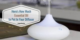 Muji Essential Oil Chart Heres How Much Essential Oil To Put In Your Diffuser