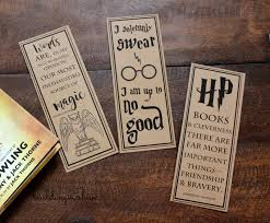 i made up these bookmarks for our little muggle and her friends