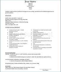 Intermediate Care Nurse Resume Kantosanpo Com