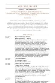Regional Manager Resume Inspiration Regional Operations Manager Resume Samples VisualCV Resume Samples