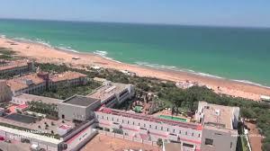 Hotel Costa Conil Hotel Fuerte Conil Costa Luz Cadiz Aerial Video Youtube