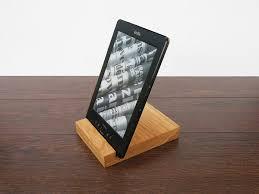 wood ipad stand 1310 oak 01