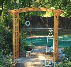 ... Arched Garden Arbor (Options: 96