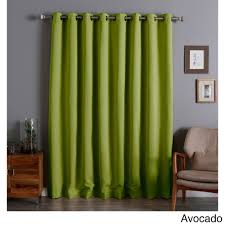 available in a variety of colors the triple weave design of the curtains allows no light to enter the room and helps to block out noise