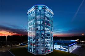 Car Vending Machine Japan Classy Carvana Debuts Newest Car Vending Machine In Tampa Business Wire