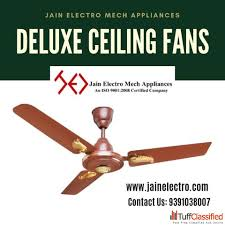free beautiful golden color deluxe ceiling fans