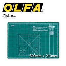 olfa cm a4 cutting mat self healing 2 sided imperial metric 300x210