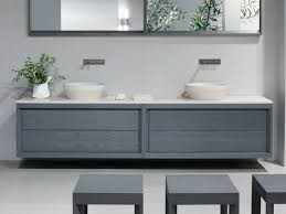double vanity wall hung google search