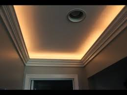 crown moulding lighting. Crown Molding With Indirect Lighting Installation Moulding YouTube