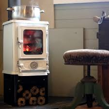 cooking on a tiny wood stove