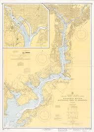 Potomac River Mattawoman Creek To Georgetown United