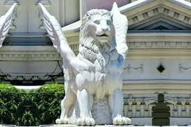 outdoor lion statues lion statues for front porch outdoor white marble winged lion statues for front outdoor lion statues
