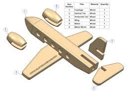 passenger plane kids toy plan