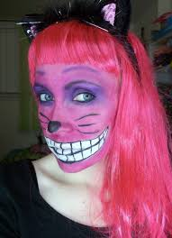 diy cheshire cat makeup