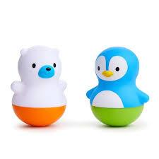 <b>Игрушка для ванной поплавок</b> Munchkin Медведь и Пингвин ...