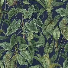 Erismann Erismann Paradiso Tropical Leaves Pattern Wallpaper Jungle