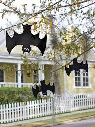 Outdoor Halloween Props Halloween Bat Decorations Craft For Kids Hgtv